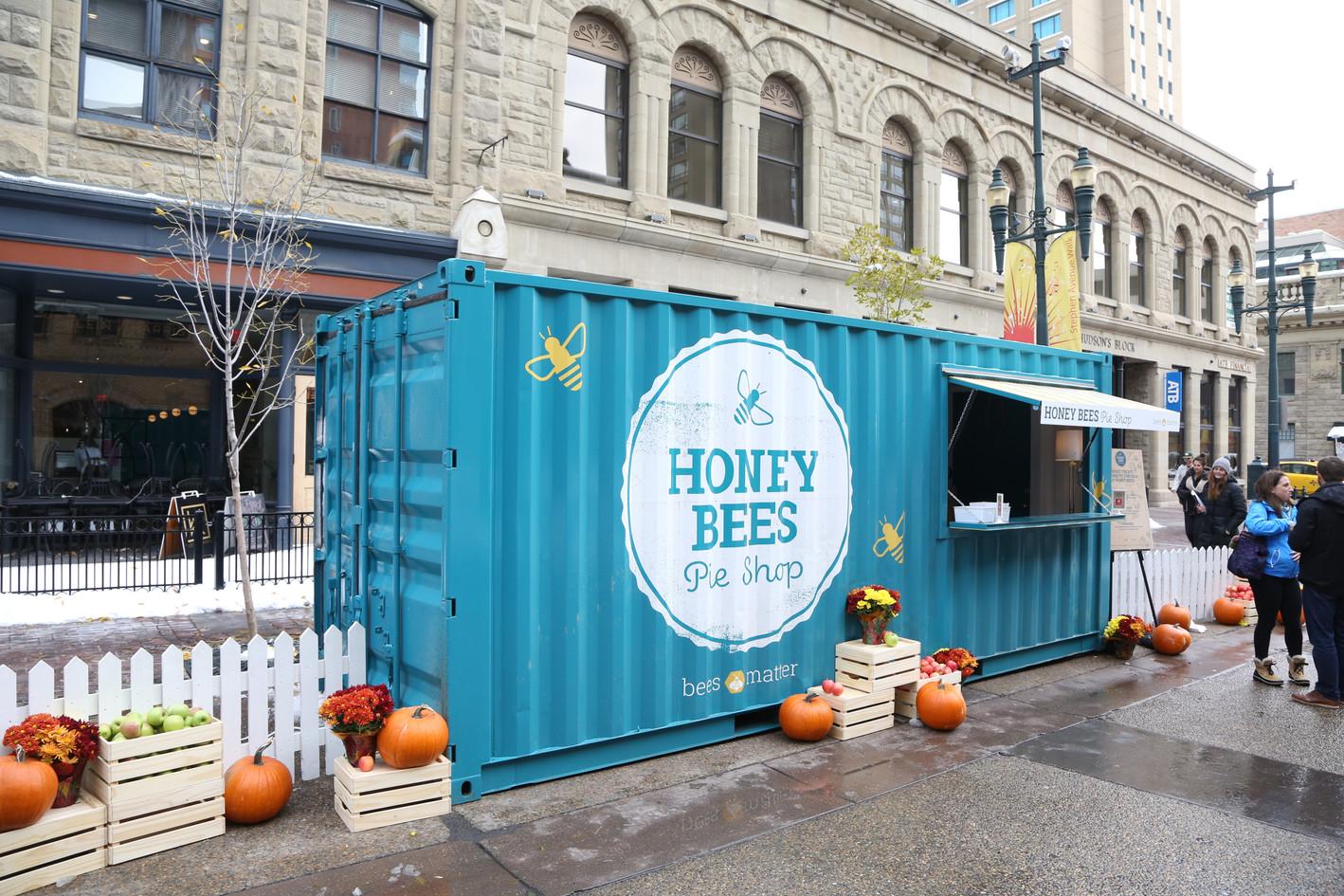Honey Bees Pie Shop - Calgary
