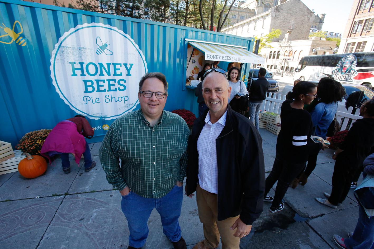 Honey Bees Pie Shop - Dennis Prouse and Jeff Reid