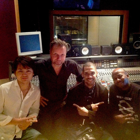 Mixing at Metropolis Studios London