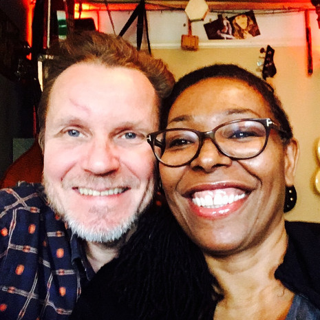 Writing and producing a new album with the 'Queen of Lovers Rock' Carroll Thompson