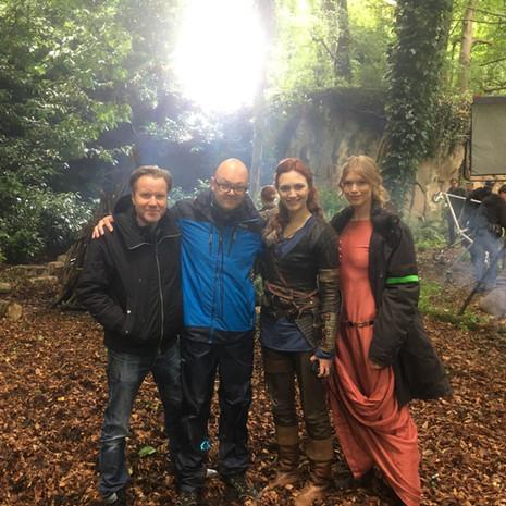 On Viking Destiny/ Of Gods & Warriors Film Set