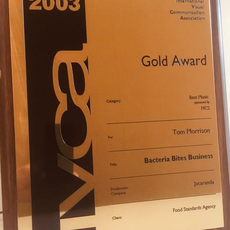 2003 IVCA Gold Award for Best Music