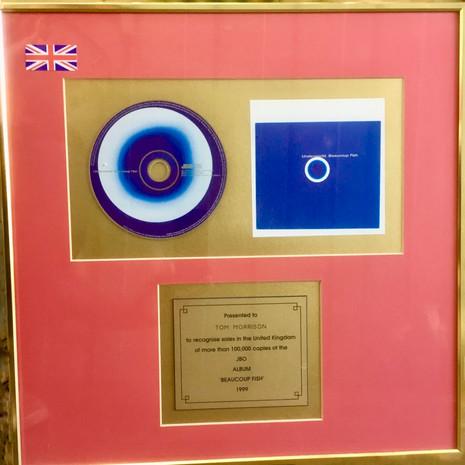 Underworld Gold Disc for Tom
