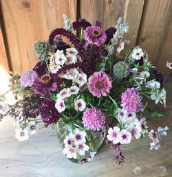 Seasonal bouquet, locally grown.