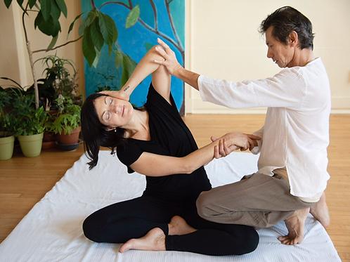 Thai Massage Level 1 Zoom
