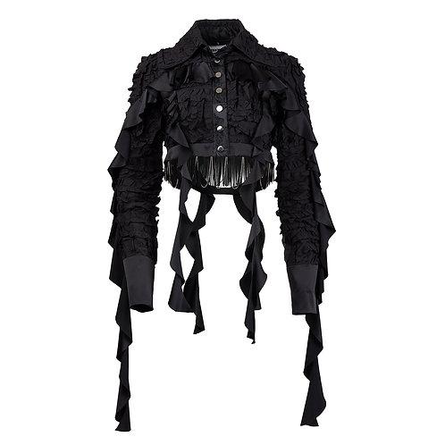 Labyrinth Cropped Jacket