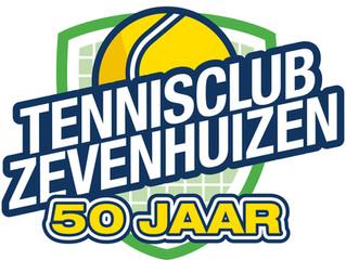 50 jaar tennisplezier op de club