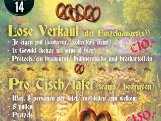 Bier en gezelligheid op Oktoberfest 14 oktober