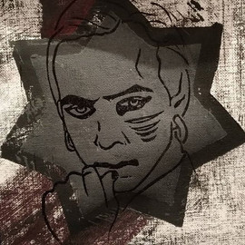 Making of LOTL Linoprinted Portraits - G