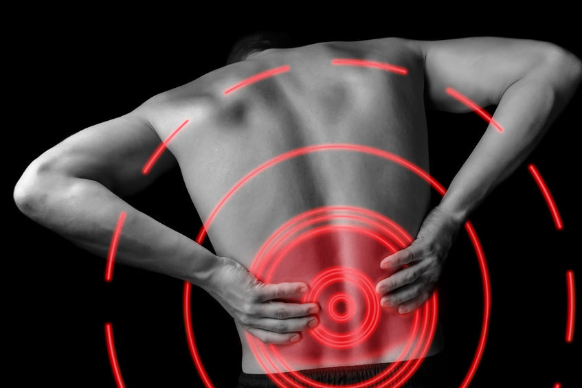 treating acute lower back pain - fleximed first aid training