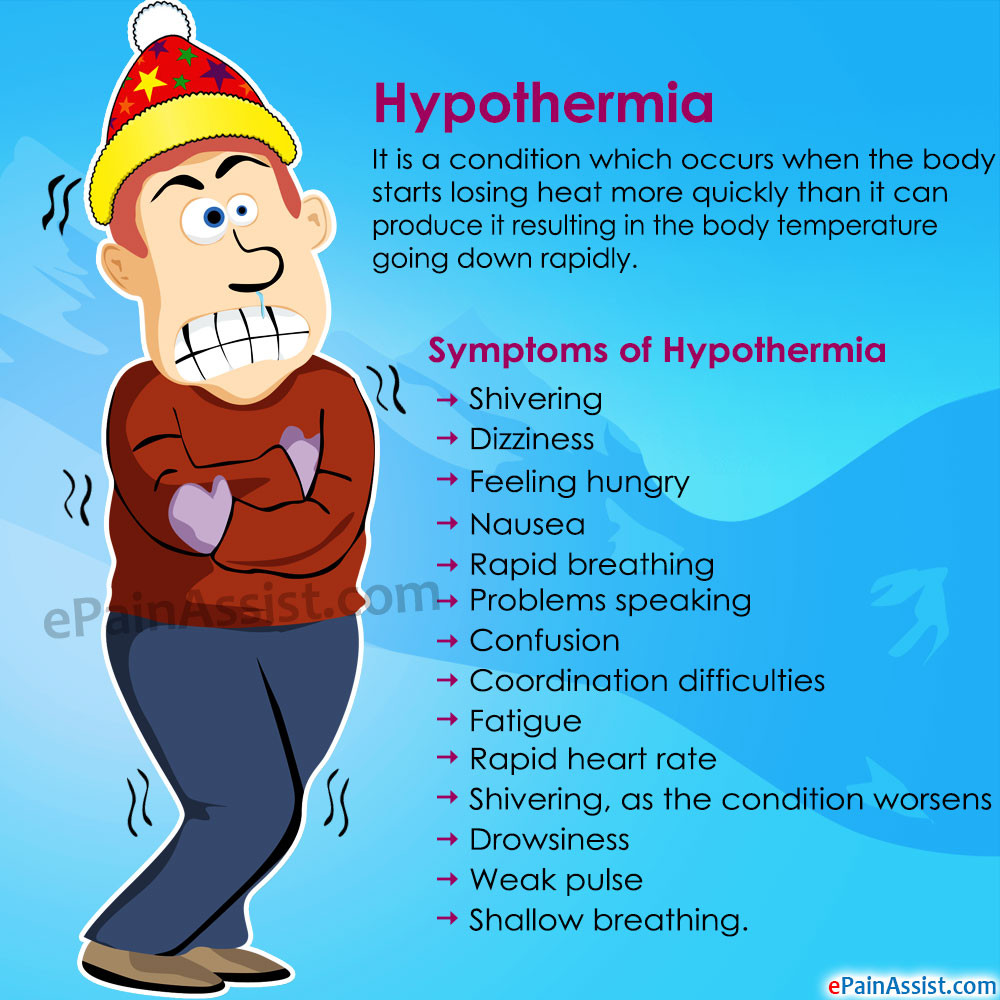 symptoms of hypothermia - fleximed first aid training UK