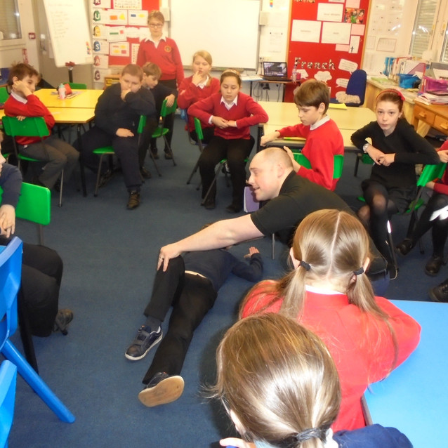 Recovery position demo