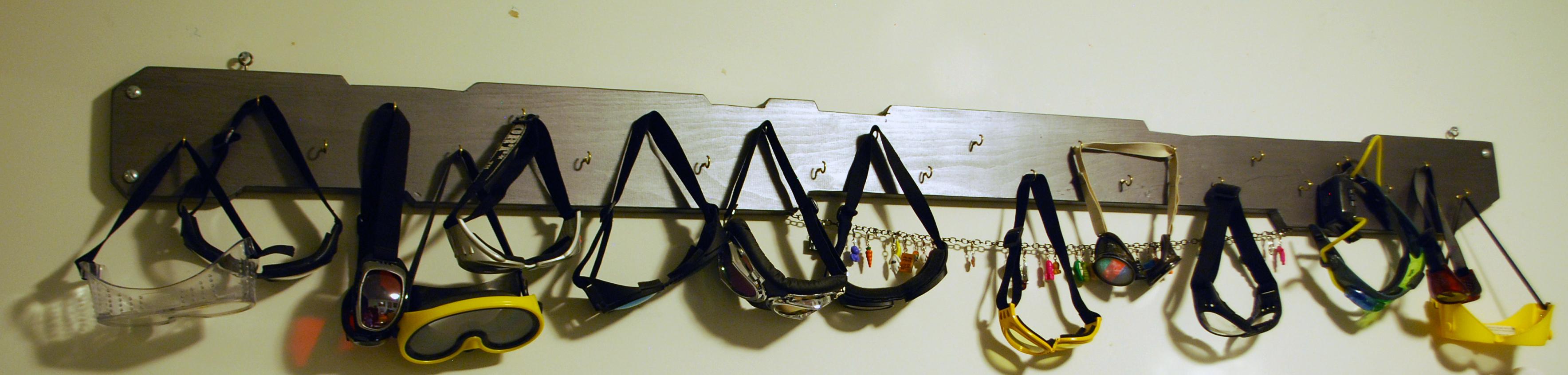 goggle rack