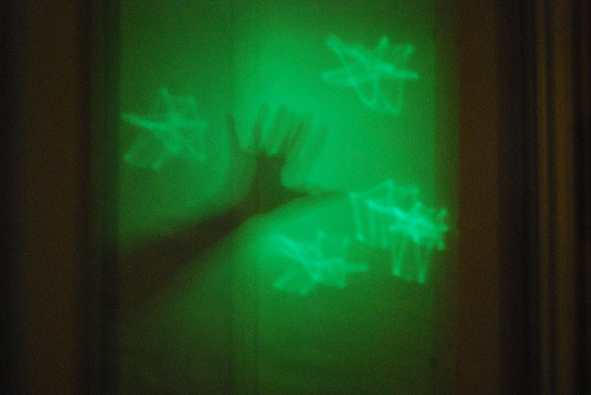 Glow panel