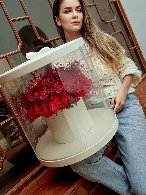 Rosas rojas Mega box