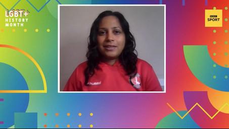 Bhav reps Proud Valiants in BBC Sport Social Vid!