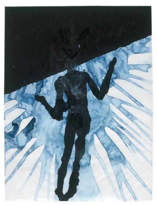 Σκιτσο του Antony Gormley