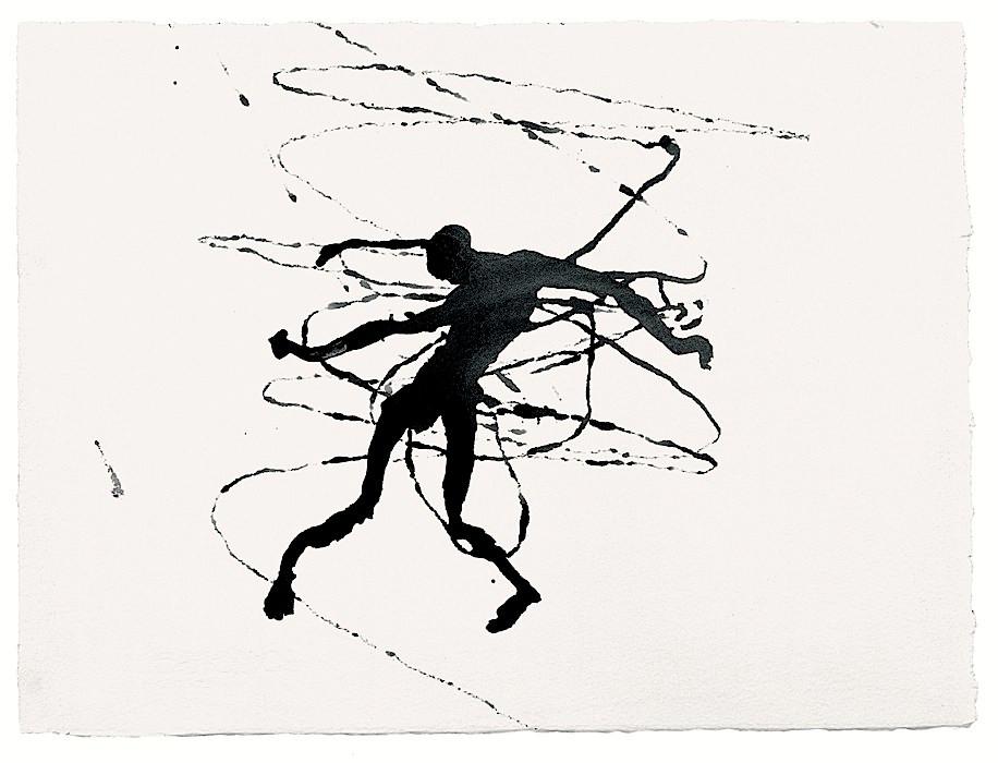 Σκίτσο του Antony Gormley