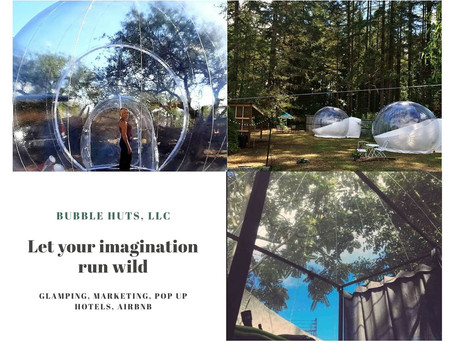 Your Imagination + Bubble Huts are a Perfect Blend!