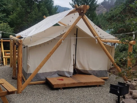 Providing Premium Canvas Pioneer Tents!