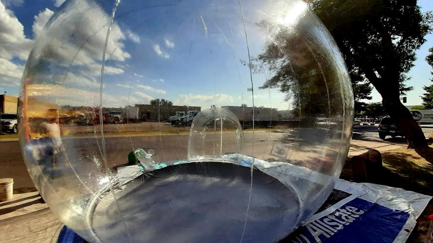 10' All Clear Globe - Bubble Huts LLC.jp