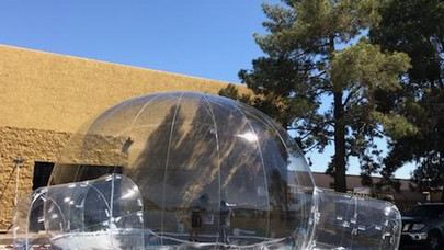 Giant Inflatable Domes