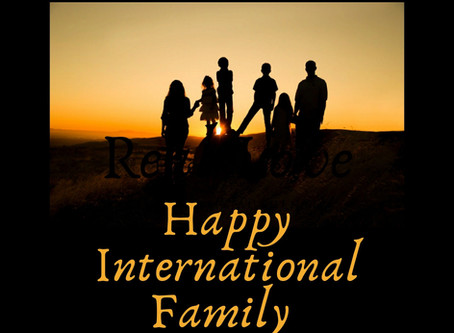 Happy International Families Day!