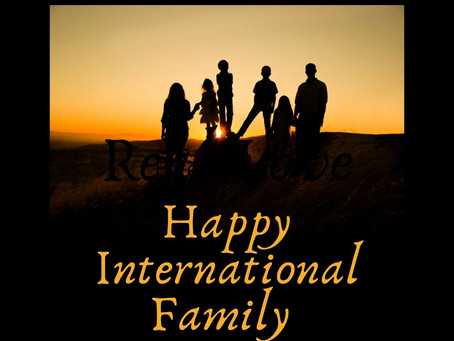 Happy International Families Day!