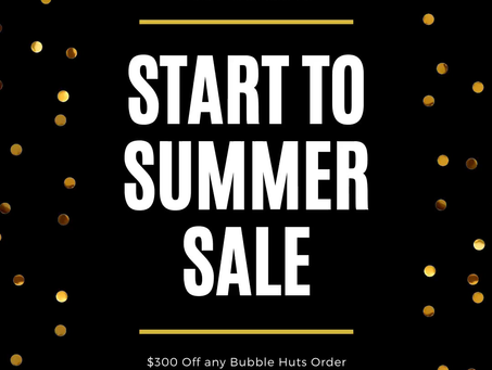A Great Savings To Kick Off The Summer!