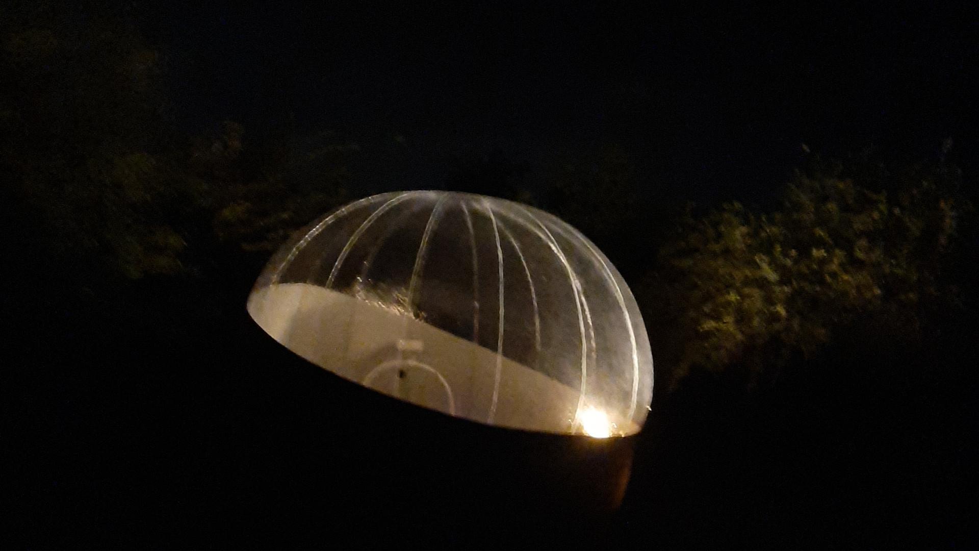 The bubble huts brand