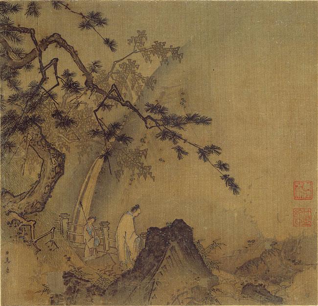 Scholar by a Waterfall - Ma Yuan