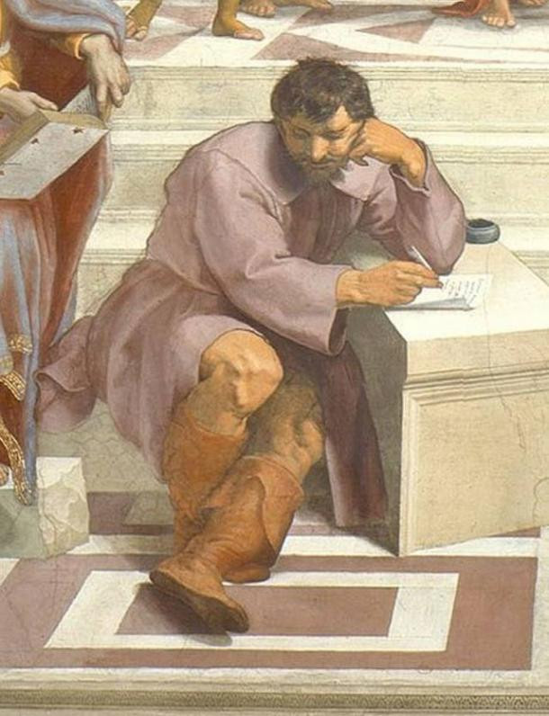Herclitus - From Raphael's School of Athens