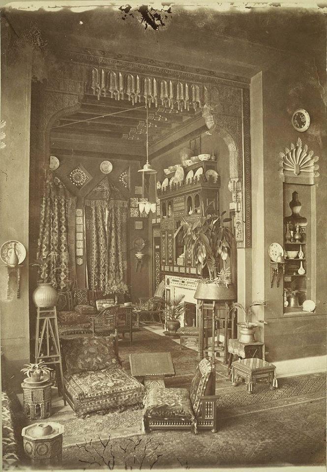 Egypt Home Interior, ca 1865