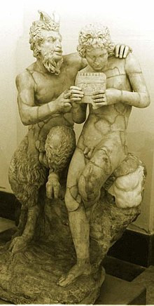 Roman copy of Greek original c. 100 BCE, found in Pompeii