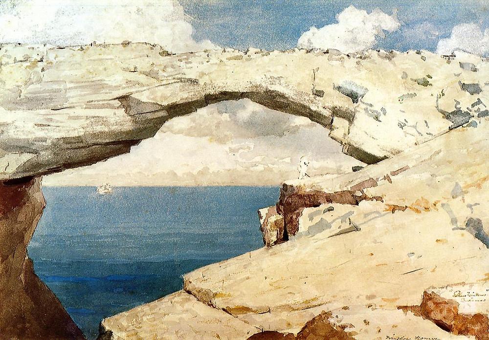 Winslow Homer - Glass Window