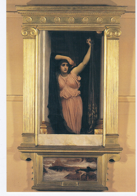 The Last Watch of Hero by Lord Frederick Leighton