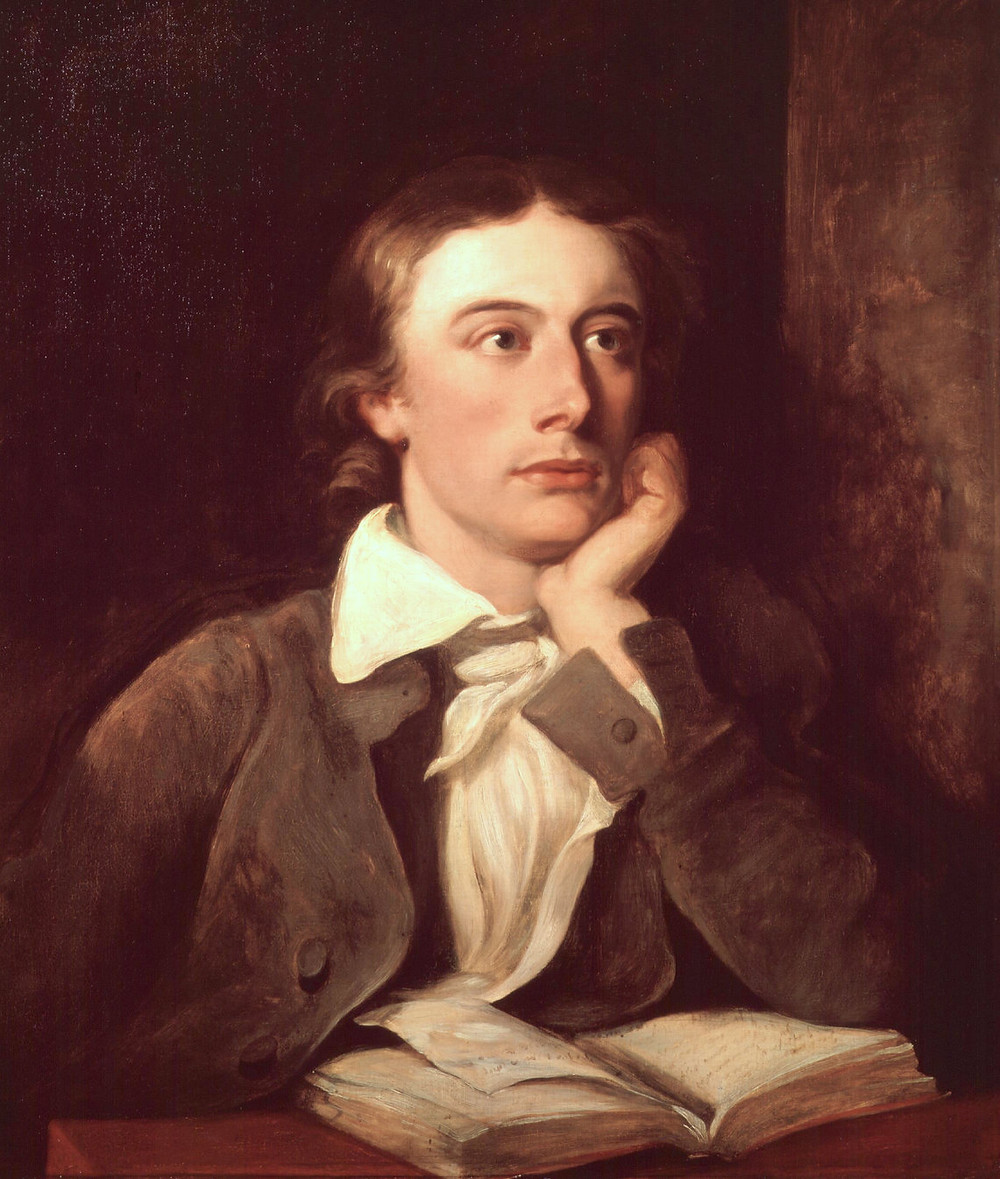 Portrait of John Keats by William Hilton