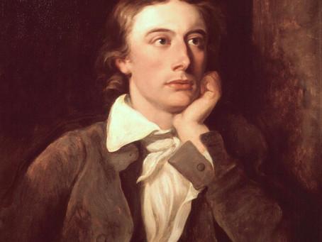 In Memory of John Keats (1795 – 1821)