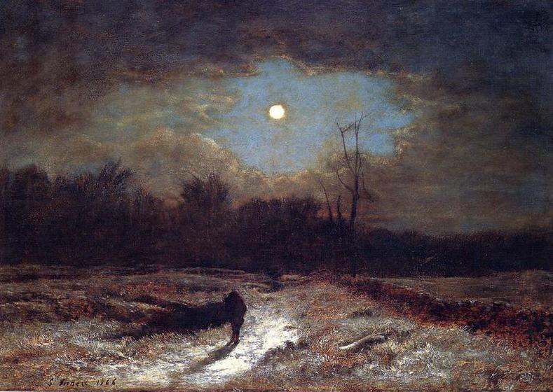 Christmas Eve (1866) - George Inness