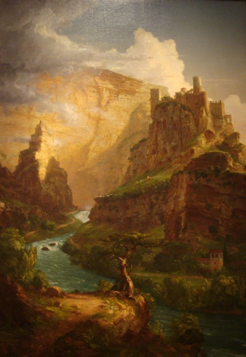 The Fountains of Vaucluse (1841) - Thomas Cole