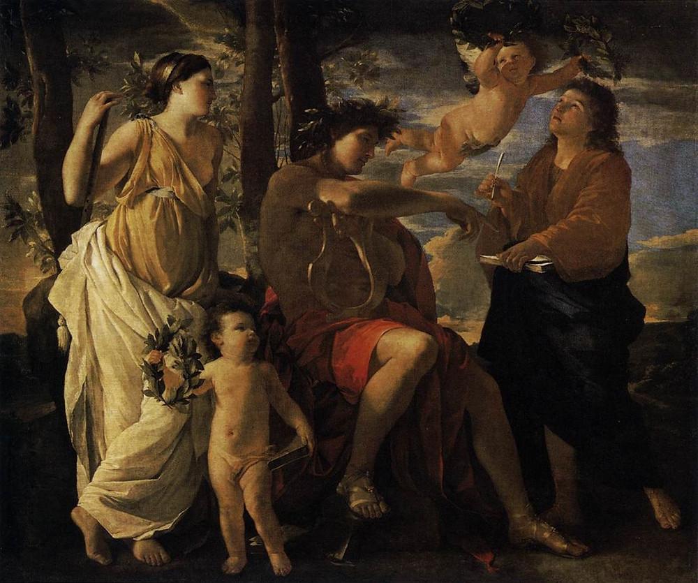 Nicholas Poussin - Inspiration of the Poet