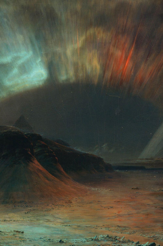 Frederic Edwin Church (1865) - Detail from Aurora Borealis