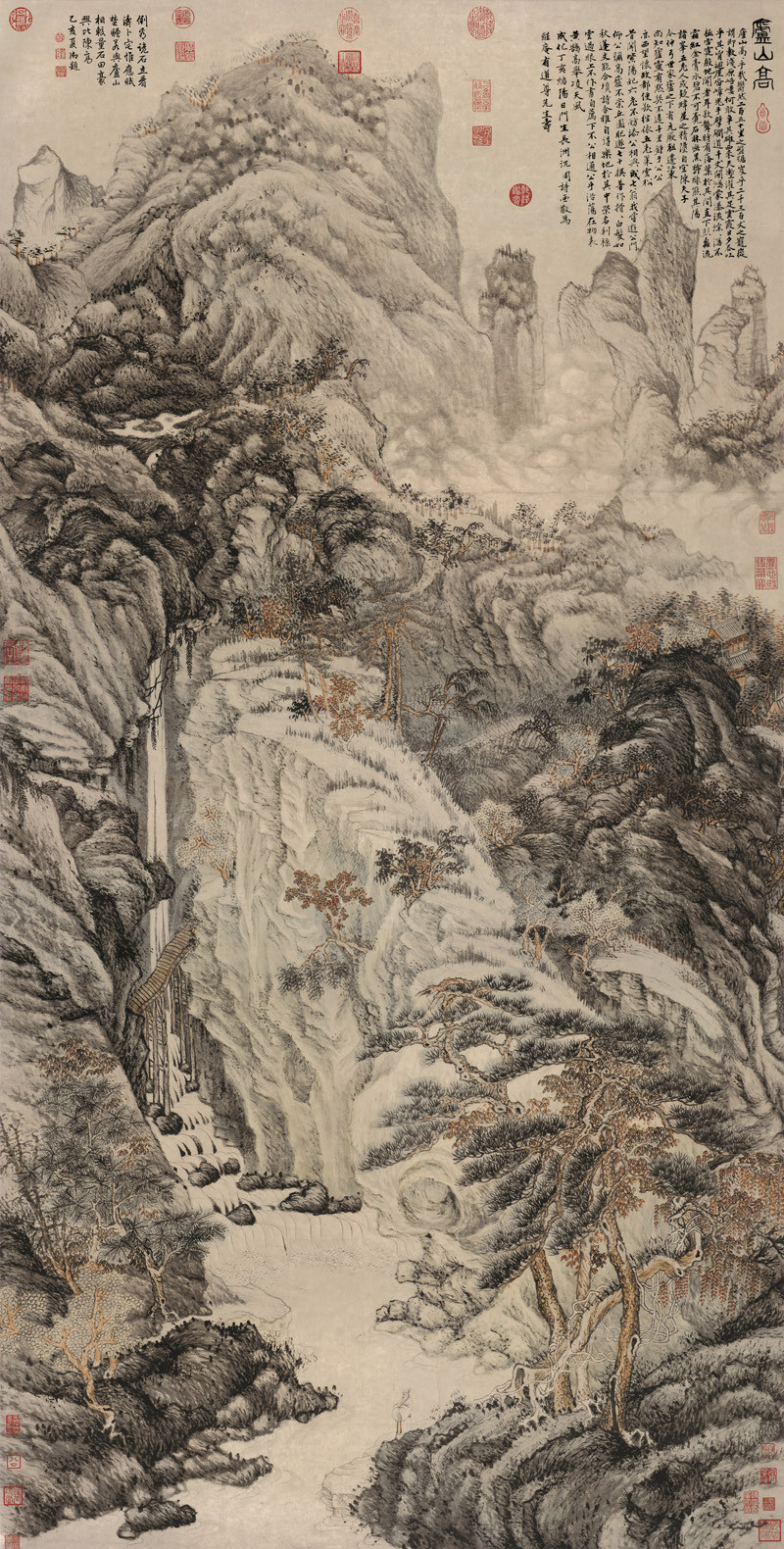 Lofty Mountain - Shen Zhou