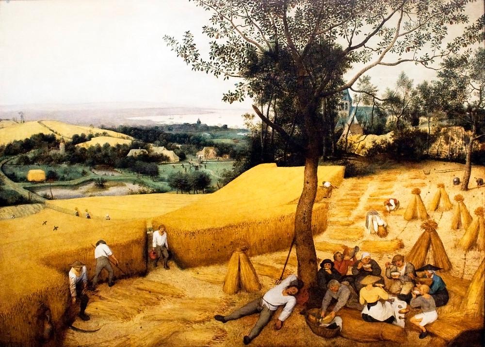 Peter Breugal the Elder - The Harvesters