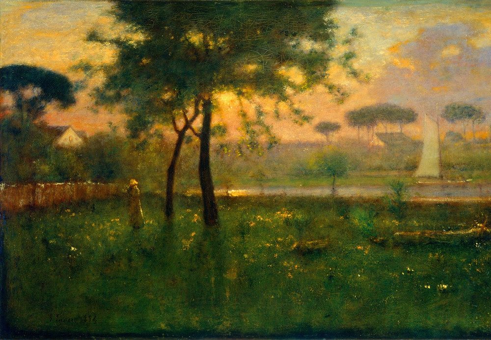 Rosy Morning - George Innes