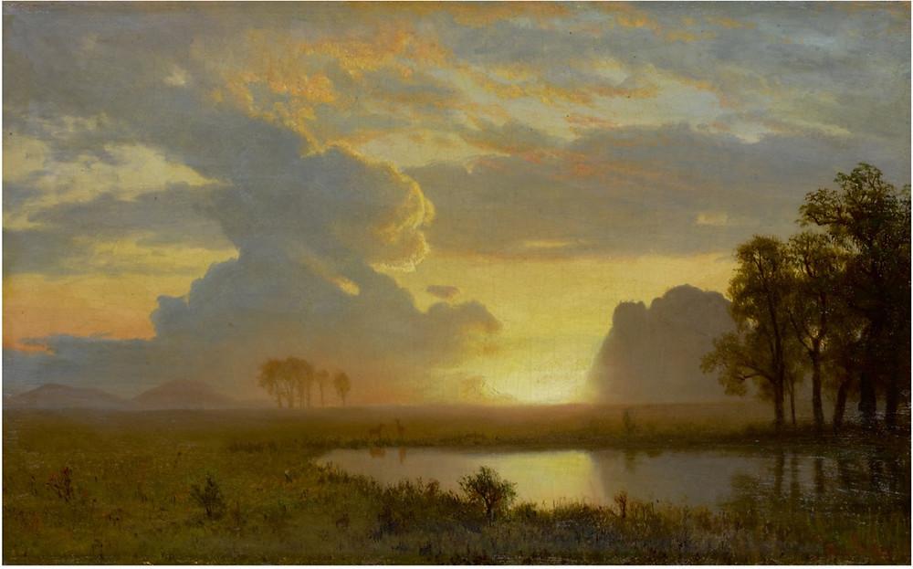 ALBERT BIERSTADT, ESTES PARK, COLORADO, 1867