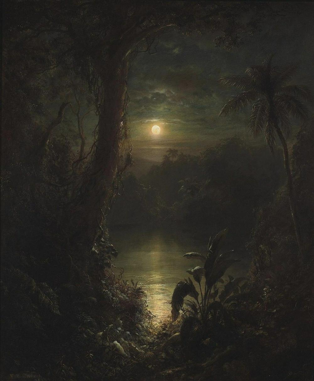 Twilight in the Tropics by Federich Edwin Church