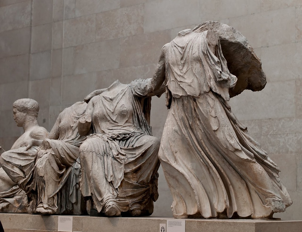The Parthenon Marbles (Or Elgin Marbles) created by scultpur Phisidas and his assistants