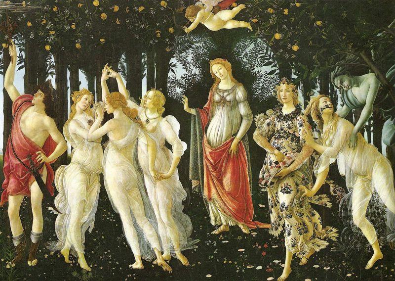 La Primavera - Sandro Boticelli (1482)