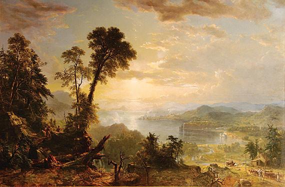 Asher B. Durand, Progress (The Advance of Civilization), 1853